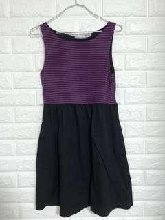 🖤 Black & purple dress