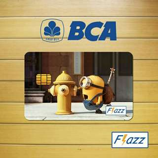 Custom Flazz, E-Money, Brizzi,TapCash