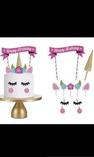 Unicorn cake decoration! (Happy birthday)