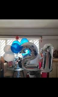 40inch number balloon