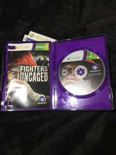 XBOX 360 Fighters Uncaged Game