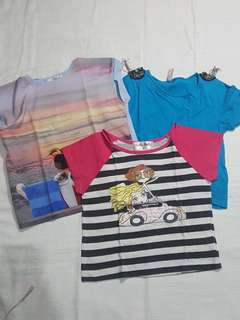 Assorted tops for kids