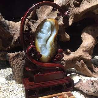 Jianglong luohan pendulum pieces. Xinjiang hetian seed materials set pieces