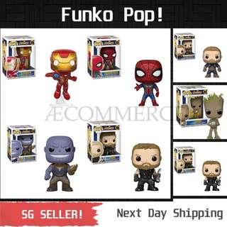 Funko Pop! Figurine / Vinyl Bobble Head / Marvel