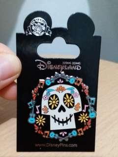 (包平郵) 全新 Coco Skull Disney Pin 玩轉極樂園 迪士尼徽章