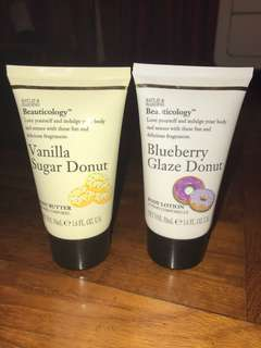 Beauticology Body Lotion & Body Butter