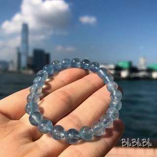 7mm 冰種海藍寶