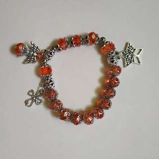 Handcrafted Rosary bracelet