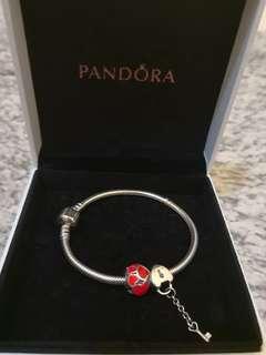 Pandora 手鏈 bracelet 100% New & Real (17cm)