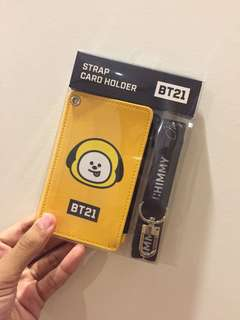BT21xMonopoly Strap Card Holder