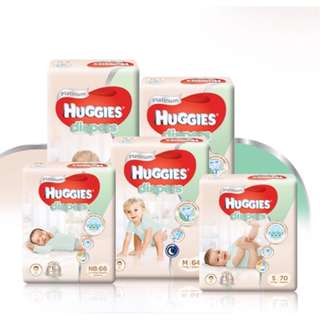 HUGGIES PLATINUM DIAPERS/PANTS CARTON SALE INCLUDING FREE DELIVERY 📦 LOCAL 🇸🇬 AUTHENTIC STOCKS