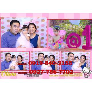 Photobooth or Photographer in any areas in Antipolo or Rizal or Metro Manila