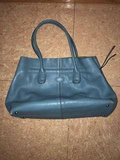 Tods blue bag