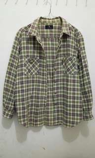 POLO Chocogreen Shirt (kemeja)