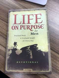 Life On Purpose For Men