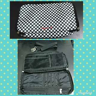 Agnes b 隨身旅行袋