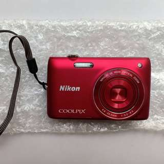 Nikon Coolpix S4100 RED