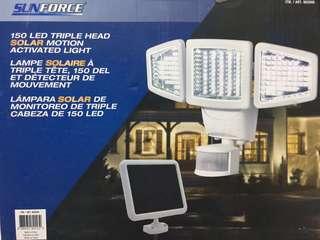 Sunforce 150-LED Triple Head Solar Motion Light