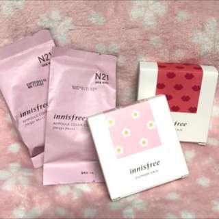 🚚 Innisfree 氣墊粉餅補充蕊/粉盒