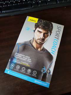 Jabra Sports Coach Wireless Earphones BNIB