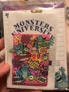 怪獸大學信封信紙