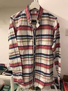 Steal deal! Jan sober checkered shirt