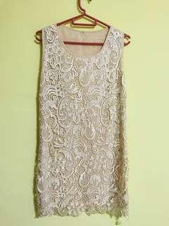Korean Crochet Dress