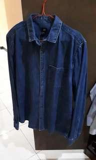#mausupreme kemeja jeans