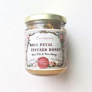 Honey ::: 純天然大馬士革玫瑰花瓣蜂蜜💛歐洲鄉村手工釀製