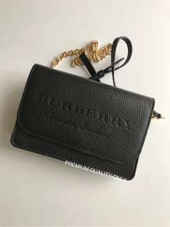 Burberry Calf Skin Chain bag