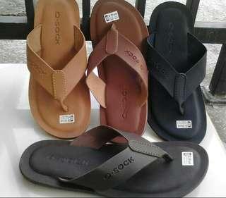 Sandal semi kulit garut