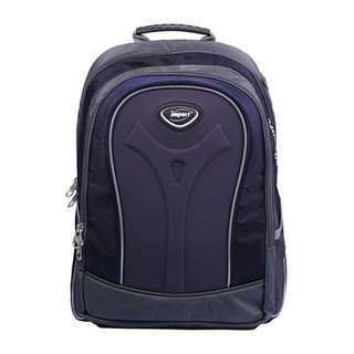 Impact Ergo Comfort Ergonomic Backpack (Navy Blue)