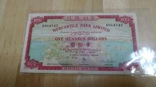 有利銀行地圖$100