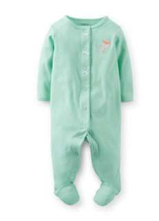 Carter footed romper sleepwear