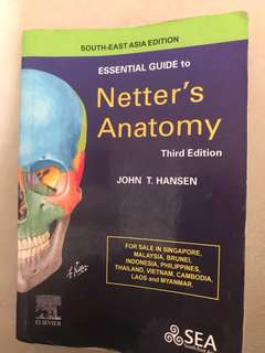 Essential Guide to Netter's Anatomy 3rd Edition