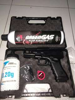 Airsoft Gas type G17