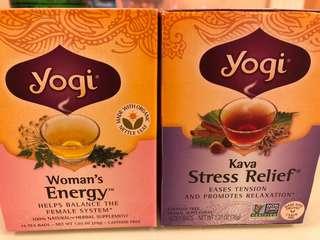 美國 yogi tea 天然草本茶 woman's energy stress relief