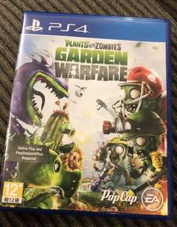 PS4 Game: Plants vs Zombies Garden Warfare