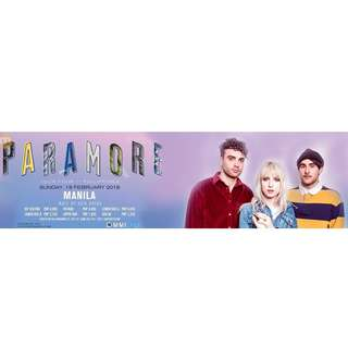 ParamoreFourTour GenAd ticket for 1