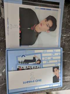 Wanna One To Be One Album Blue