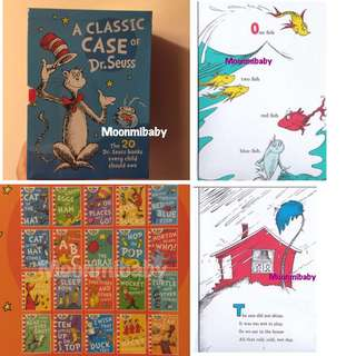 🌸現貨🌸經典作品 Dr. Seuss Classic Collection (20 books)