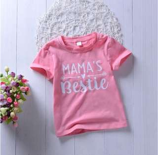 Preorder Mama's bestie shirt