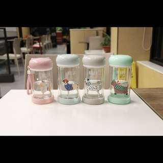 Dogs Glass Bottle (P.O.)