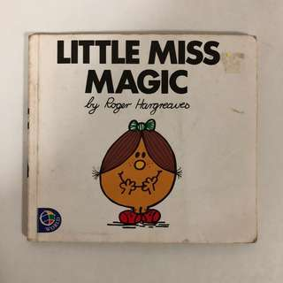 1991 Little Miss Magic Book - Roger Hargreaves