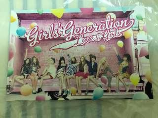 少女時代 Girls Generation <LOVE & GIRLS> Card
