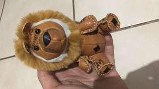 Mcm lion keychains