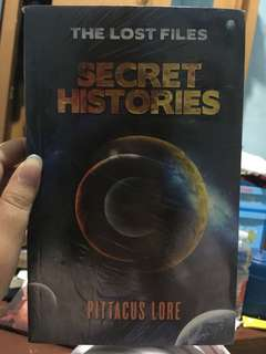 The Lost Files : Secret Histories by Pittacus Lore