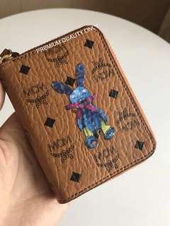 MCM Card Multi Wallet- brown