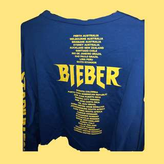 Cropped Sweater Justin Bieber Stadium Tour