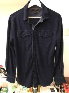 Steal deal! Banana republic indigo shirt